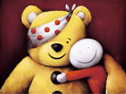 Pudsey by Doug Hyde - Limited Edition on Paper sized 16x12 inches. Available from Whitewall Galleries